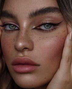 Cats Eye # Makeup # Beauty – Cats Eye # Make Up # Beauty – … – Famous Last Words Cat Eye Makeup, Skin Makeup, Makeup Art, Makeup Hacks, Makeup Tips, Beauty Makeup, Makeup Ideas, Winged Eyeliner, Pink Eyeliner