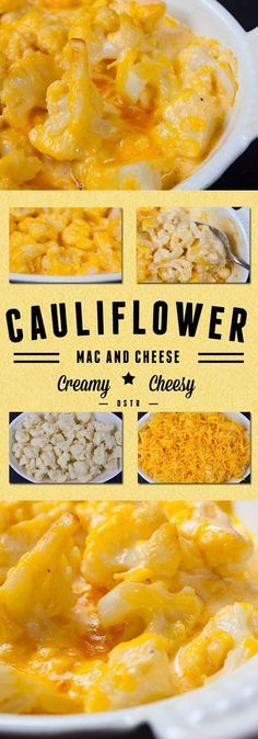cheesy califlower