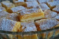 Tarif defteri: Lemon Delicious Slice - Limonlu Nefis Dilimler