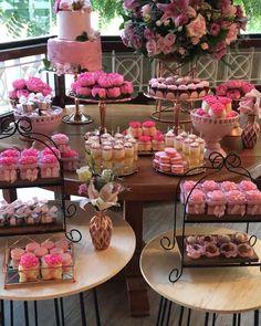 Birthday Candy, 10th Birthday Parties, Birthday Party Decorations, Little Girl Birthday, Sweet 16 Birthday, Birthday Design, Vintage Party, Wedding Desserts, Candy Buffet