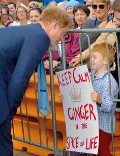 Prince Harry. One of the very few cute male gingers.