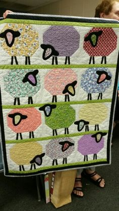 Counting Sheep Quilt - Donna M