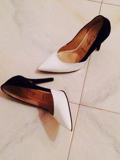 Heels- black&white