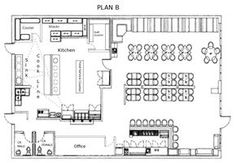 Small Restaurant square floor plans   Every restaurant needs thoughtful planning to achieve success. From ...