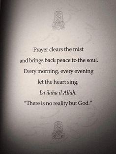 There is no God but Allah. #Prayer #shahada