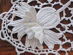 Em's Heart Antique Linens -Antique Irish Crochet Lace Inserts