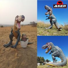 Der Asen T-Rex ist auf jeden Bogen-3D-Parcour ein Hingucker. Bring Jurassic Park in den Parcour. ;-) Jurassic Park, Sport, T Rex, Arch, Round Round, Deporte, Excercise, Sports, Exercise