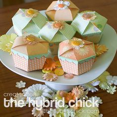 This is a very involved and complicated tutorial but when you have mastered this and you have the template file all set up, it will make mass production of super cute boxes like the Cupcake Box