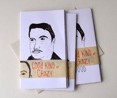 Good Kind of Crazy- Limited Edition Zine. $8.00, via Etsy.