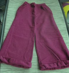1960s Mauve Bobbie Brooks Bell Bottoms Wool by LeftoverStuff, $25.00