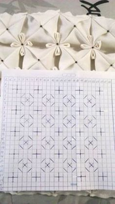 """diy_crafts- Smocking design """"How to do canadian smocking matrix design - Art & Craft Ideas"""", """"Welcome to the Smock-Down! A smocking tutorial"""", Silk Ribbon Embroidery, Embroidery Stitches, Hand Embroidery, Embroidery Designs, Embroidery Fashion, Smocking Tutorial, Smocking Patterns, Sewing Patterns, Textile Manipulation"""