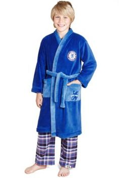 Chelsea F.C Gown with StayNew™ (3-16 Years) | M&S