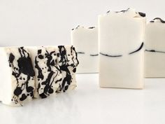 Shea soap with splatter top
