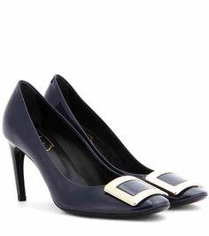 Belle De Nuit patent leather pumps | Roger Vivier
