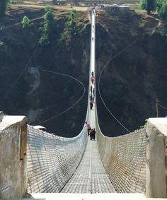 Kushma - Gyadi Suspension Bridge, Nepal