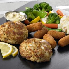 Phillips Seafood - Crab Cake Platter. I know it's a chain but they still have great crab cakes!