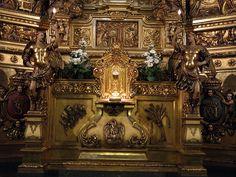 Santuari de la Mare de Déu de la Gleva, altar major