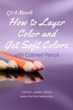 Color Pencil Drawing Tutorial In this reader question article, Carrie shows how to layer color and get soft colors using colored pencils. - In this reader question article, Carrie shows how to layer color and get soft colors using colored pencils. Painting & Drawing, Pencil Painting, Color Pencil Art, Drawing Drawing, Drawing Faces, Figure Drawing, Pencil Drawing Tutorials, Pencil Drawings, Art Drawings