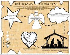 Klieder kerk messy church dapto uniting messy church for Idea door journey to bethlehem