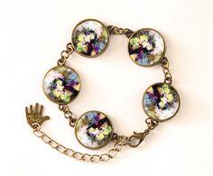 Bracelet Fantasy Earrings, RETRO Jewellery, 0446BB from EgginEgg by DaWanda.com