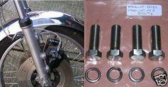 Kawasaki KH/Z/Z650/Z750/Z900 - Front Disc Bolts - S/S   eBay