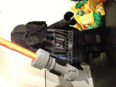 Huge Lego Darth Vader
