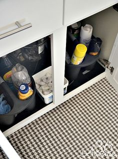 KItchen Organization Ideas 4 Use rug where water is present. I NEED this tip badly, water is always on my floor after washing dishes