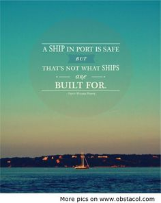 not what ships are built for.