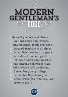 the+gentlemen's+code | The Modern Gentleman's Code
