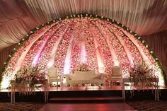 Stages of Events von Welcome Caters # Caters Desi Wedding Decor, Wedding Hall Decorations, Luxury Wedding Decor, Marriage Decoration, Balloon Decorations, Wedding Ideas, Table Decorations, Reception Stage Decor, Wedding Stage Design