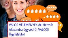 Dr. Hercsik Alexandra vélemények | Dr. Hercsik Alexandra ügyvéd vélemények