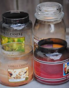 recycle old candle wax
