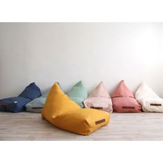 Designer children's bean bag from Nobodinoz. These super cool, stylish Oasis bean bags in pale Riviera Blue will look great in any modern bedroom, or play room. Oasis, Modern Bean Bags, Kids Bean Bags, Kids Bean Bag Chairs, Childrens Bean Bags, Deco Kids, Playroom Furniture, Game Room, Kids Bedroom