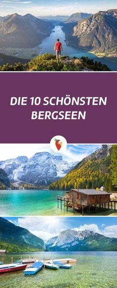 Auf geht es zum Wandern oder einfach nur Relaxen in die Berge! Wir haben für euch die 10 schönsten Bergseen aus Österreich und Tirol zusammengestellt.