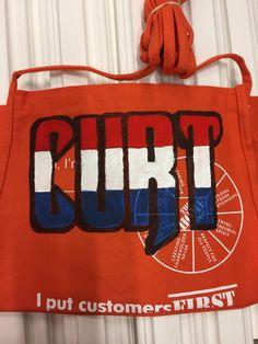 home depot apron, veteran Home Depot Apron, Screen Printing Frame, Aprons, Bags, Handbags, Apron Designs, Apron, Bag, Totes