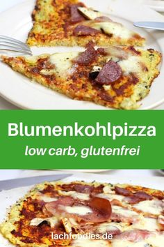 Hast du schon einmal eine Blumenkohlpizza ausprobiert? Hier findest du das Rezept für eine Blumenkohlpizza low carb. Dieses Blumenkohlpizza-Rezept ist einfach, mit Käse und schmeckt himmlisch. Eine Pizza mit Blumenkohlboden. Lass dir dein Low Carb Abendessen schmecken.    #lowcarbrezept Low Carb High Fat, Foodblogger, Lchf, French Toast, Meat, Breakfast, Recipes, Healthy Fish Recipes, Healthy Recipes