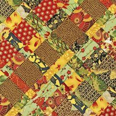 Robert Kaufman Fabrics: AHDM-8760-91 CRIMSON by Heidi Dobrott from Formosa