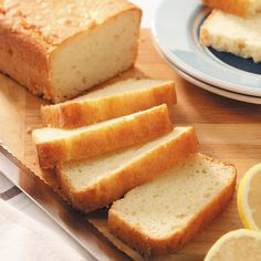 Lemon Yogurt Bread Recipe -This tender bread will remind you of pound cake. Its mild lemon flavor and cake-like texture makes it perfect for brunch or a mid-afternoon snack. —Suzy Horvath, Milwaukie, Oregon