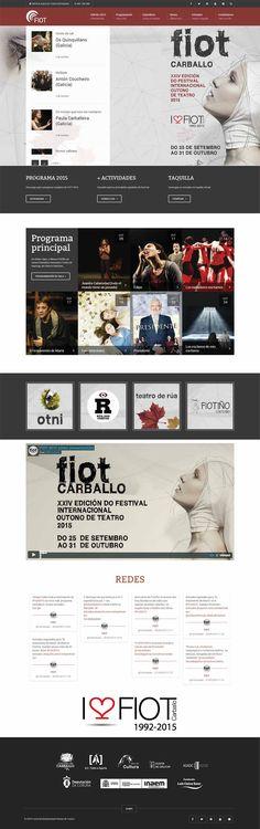 Tenemos nueva web de estreno: la del festival de teatro de Carballo, desarrollada mano a mano con Stem Comunicación. #wordpress #teatro