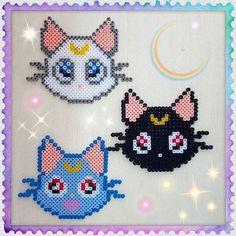 Sailor Moon hama beads by  sailorkurage