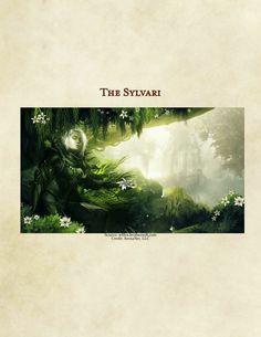 DnD 5e Homebrew — Sylvari Race by  ApolloLumina