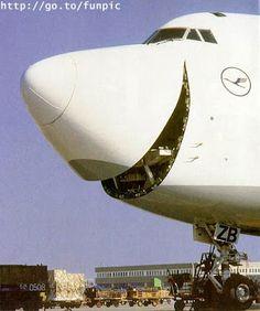 Avion qui rigole