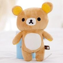 "1 pcs 8 "" mini bonito marrom San x Rilakkuma relaxe urso bonito 20 cm brinquedo de pelúcia(China (Mainland))"