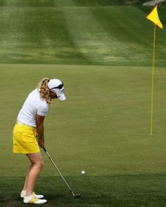 Chip Shot played by Morgan Pressel - Stephen Dunn / Getty Images