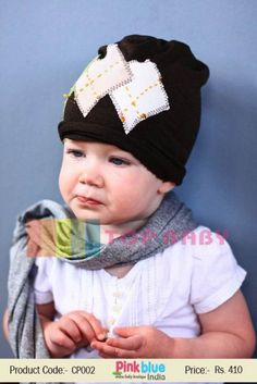 a667041ab4e Baby Summer Cap With Patch Work
