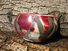 Little Red Bowl by jelliesrcool on Etsy, $40.00