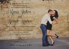 Kenzie Wedding Invitation Suite DIY by SimplySmittenDesigns