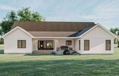 Garage House Plans, Craftsman Style House Plans, New House Plans, Dream House Plans, Pooja Room Door Design, House Construction Plan, Simple House Plans, Modern Farmhouse Plans, Future House