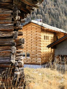 Galletti & Matter, Lionel Henriod · Transformation of a barn with stables. Barn Renovation, Farmhouse Renovation, Farmhouse Remodel, Wood Architecture, Contemporary Architecture, Architecture Details, Converted Barn, Timber Cladding, Old Barns