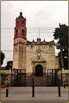 Ex Convento Franciscano y Parroquia San Luis Obispo de Tolosa,Tlalmanalco,Estado de México
